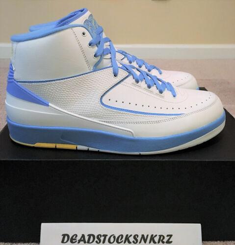 Air University 122 Melo Rétro 2 5 385475 Blu Ii Bianco Nike Jordan Taglia 10 HnxCdqB
