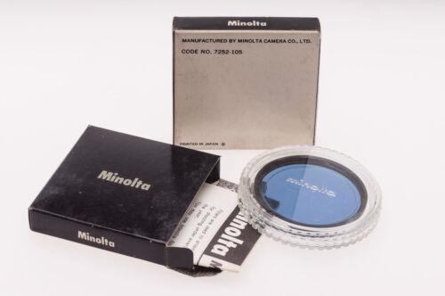 Minolta 52mm B12 80B un Filtro de conversión a D