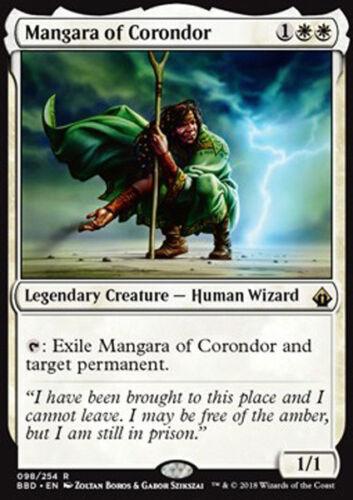 MAGIC MTG MANGARA OF CORONDOR EXC MANGARA DI CORONDOR BBD