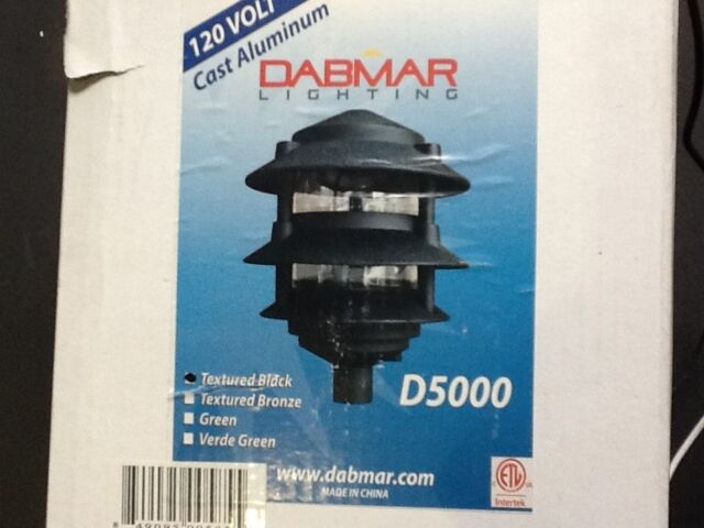 Dabmar Lighting D5000 B Cast Aluminum