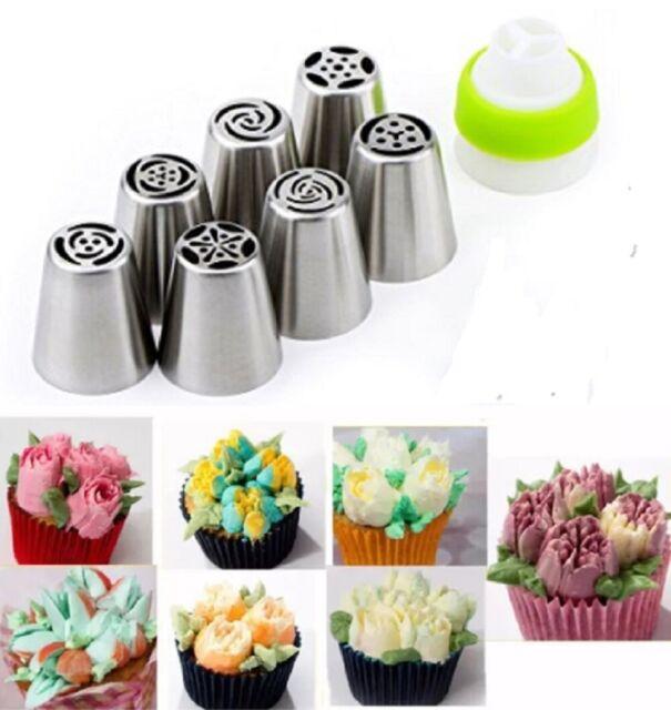 35Pcs Cake Pastry Fondant Icing Piping Nozzles Decorating Tips Baking Tool