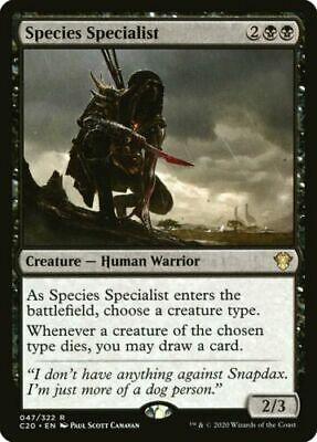 MTG Magic Pack Fresh M//NM Species Specialist Commander 2020