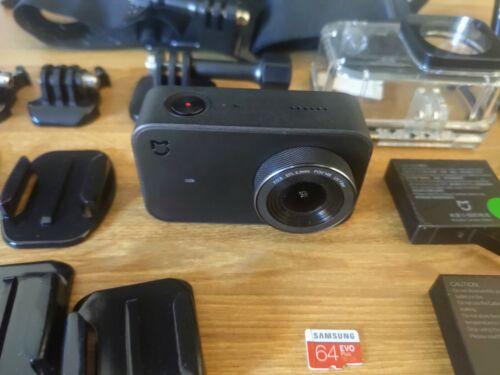 Xiaomi mijia 4k + 64 Go Carte SD + batterie supplémentaire + accessoires-Caméra d