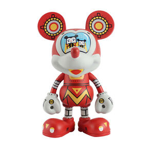 "Disney Vinyl Art Figure Mecha Mickey Mouse by Devilrobots 6.3"" (16cm) Decor Toy"