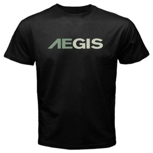 Aegis security mercenary soldier of fortune army defence tactics Tshirt Black