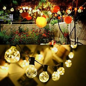 ELectric-38-4ft-30LED-Ball-Bulb-Fairy-String-Lights-Xmas-Wedding-Decoration-Lamp