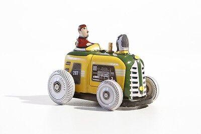 Ehrlich Baufahrzeuge & Traktoren Spielzeug Blechspielzeug Kleiner Traktor °° Tin Toy °° Jouet En Tôle °°
