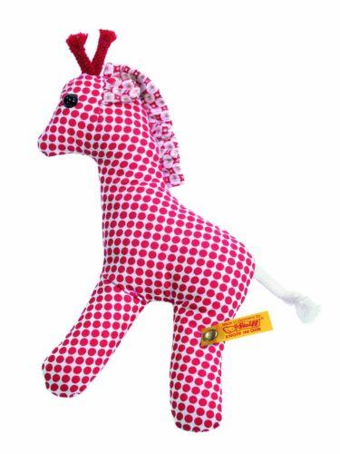 Steiff STEIFF®  235962 Bendy Giraffe Rassel 12 cm,rot NEU unbespielt RARITÄT