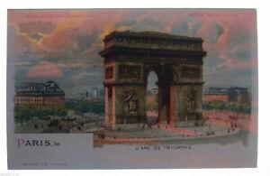 034-Paris-L-Arg-De-Triomphe-034-1903-Support-Against-the-Light-Meteor-32611