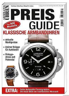 Fachbuch Preisguide Armbanduhren-klassik-katalog 2013 5. Auflage Viele Infos Neu Seien Sie Im Design Neu