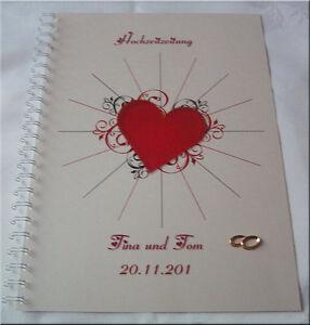 Hochzeitszeitung-Festzeitung-Hochzeit-Geschenk-Ehe-Ringe-Brautpaar-Herz-in-rot