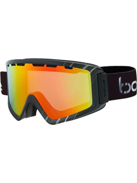 Bolle Z5 OTG Ski Goggles Unisex Snowboarding Black Cat 2 Sunrise Lens 21495