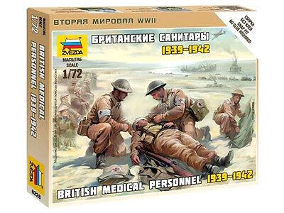 Zvezda - British Medical Personnel - 1:72 - 6228 Imballaggio Di Marca Nominata