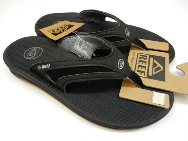 abeea849af123d Reef Flex Mens Sandal 9 Black silver for sale online