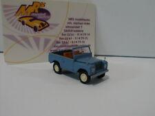 Brekina 13852-1//87 Land Rover 88 Cabrio Gelbgrau Neu