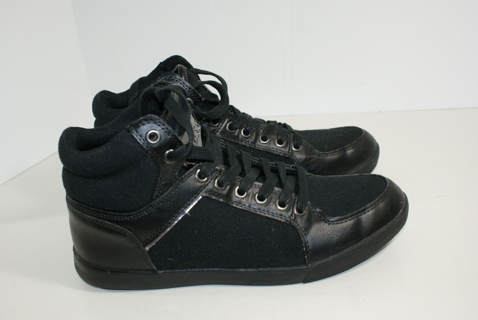 Guess MG Jarred Men's Size 8 Black Tennis Sport Sneaker Athletic Shoes