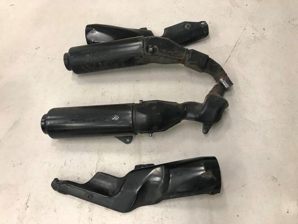 Honda CBR 1000 F årg. 1993 Udstødning