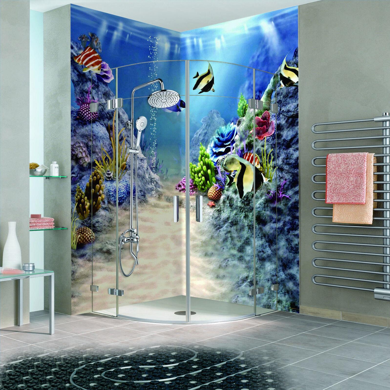 3D Seabed Path 107 WallPaper Bathroom Print Decal Wall Deco AJ WALLPAPER CA