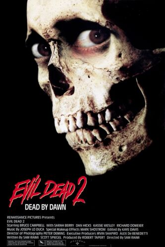 """/""""The Evil Dead 2/""""...Bruce Campbell Classic Horror Movie Poster ..Various Sizes"""