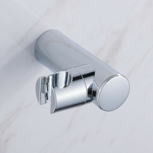 Shower Head Holder Replacement Bracket Bathroom Wall Mounted Hand Chrome Holder