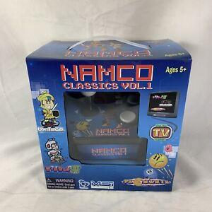 NAMCO-Classics-Vol-1-Plug-n-Play-TV-Video-Games-Pac-Mania-Dig-Dug-2-Tower-Druaga