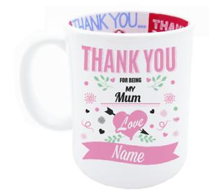 Mum Custom Personalised Coffee Tea Gift Mug For Birthday Christmas Keepsake