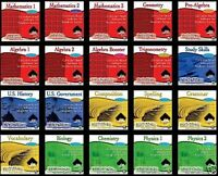 20 Pack High Achiever Computer Pc Software Educational Academic Compact Disc Cds
