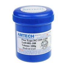 New 100g Amtech NC-559-ASM Solder Flux Paste RoHS Lead Free For BGA Reballing