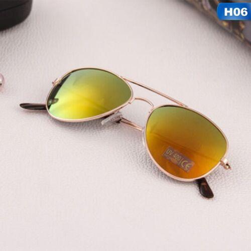 Kinder Sonnenbrille Kinder UV400 Pilotenbrille Mädchen Jungs HOT ik
