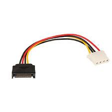 Adapter Kabel SATA Power auf 4 Pol IDE bzw. 4 Pol S-ATA Strom auf IDE Molex