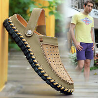 Fashion Mens Summer Loafer Sandals Casual Sneakers Soft Men's Oxfords shoes GB67