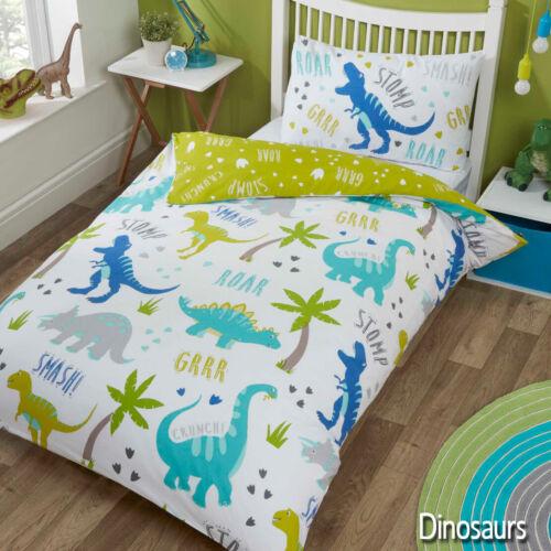 Kids /& Adult Character Duvet Quilt Cover Bedding Sets Boys 4 sizes Girls