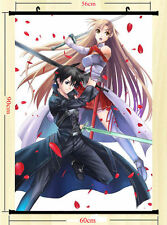"Sword Art Online 2 Posters Anime Silk Wall Poster 13x20 24x36/"" 07"
