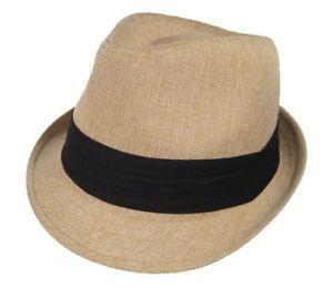 Image Is Loading Fedora Summer Straw Crushable Travel Beach Hat Khaki