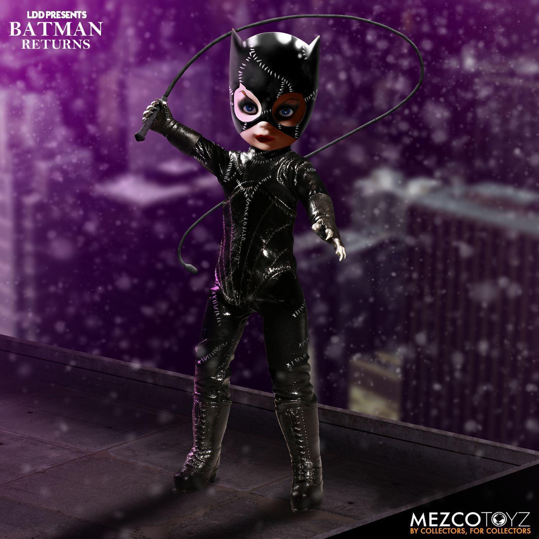 Mezco Toyz Batman Returns Catwoman Tim Button DC Comics Action Figure 99375