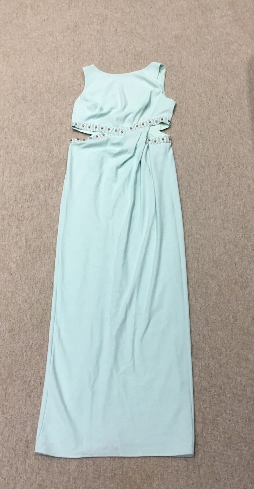 New Coast Mint Cutout Dress UK14 fits UK12