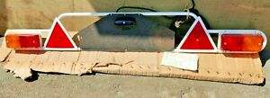 VINTAGE LUCAS METAL TRAILER LIGHTING BOARD WITH CABLE NEW OLD STOCK