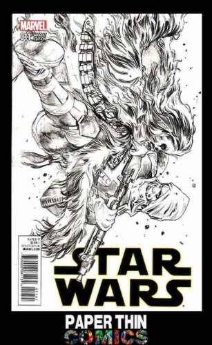 2015 STAR WARS #11 IMMONEN SKETCH VARIANT COVER MARVEL COMIC
