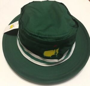 726a110dbfb Image is loading MASTERS-AUGUSTA-NATIONAL-TOURNAMENT-GOLF-BUCKET-SUN-HAT-