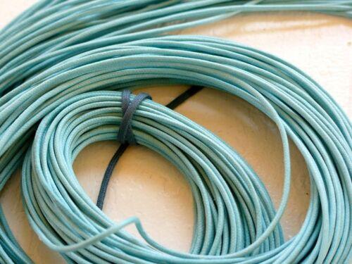 1 metro Cordino COTONE 100/% colorato spessore 2mm ricambio turchese