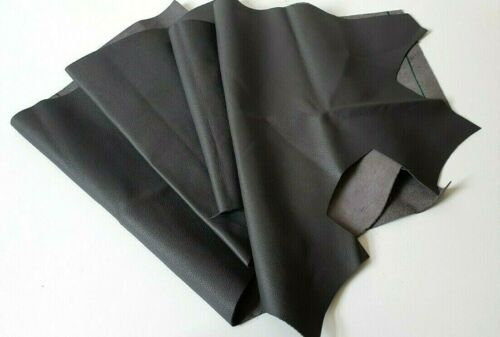 CAR REPAIRS EXTRA cm for FREE Dark Grey Leather  for FURNITURE 50cm x 20cm