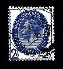 GREAT BRITAIN - GRAN BRETAGNA - 1929 - 9° Congresso dell'U.P.U. 2 1/2 p. bleu az