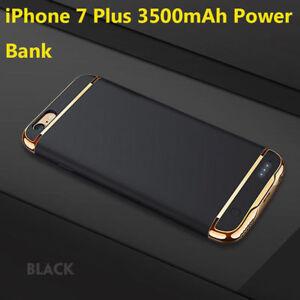 For Iphone 6s 7 Plus Case 3500mah Ultra Slim External Power Bank