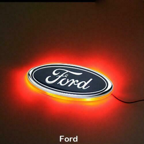 LED Car Tail Logo Red Light Auto Badge Rear Emblems Lamp for Ford Focus Mondeo