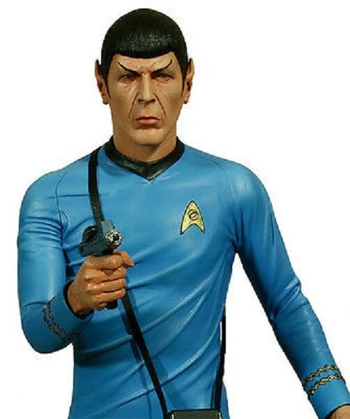 Star Trek Captain 1 4 Scale Statue Hollywood Collectibles Mr. SPOCK figure