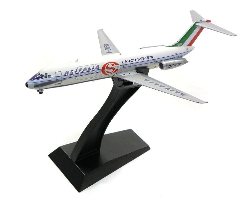 Ifdc 90816BP 1 200 ALITALIA CARGO SYSTEM DC-9-32F I-DIBK lucidata con supporto