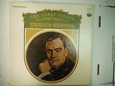 33 RPM Vinyl Enrico Caruso The Great Caruso Everest 3331/5 010615KME