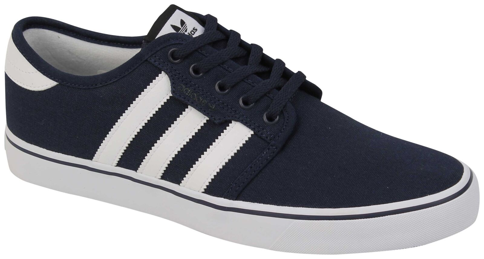 Adidas Seeley shoes - Collegiate Navy   White   Black - New