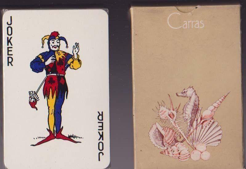Carte da gioco CARRAS PUBBLICITARIE JOKER , POKER VINTAGE PLAYING CARDS