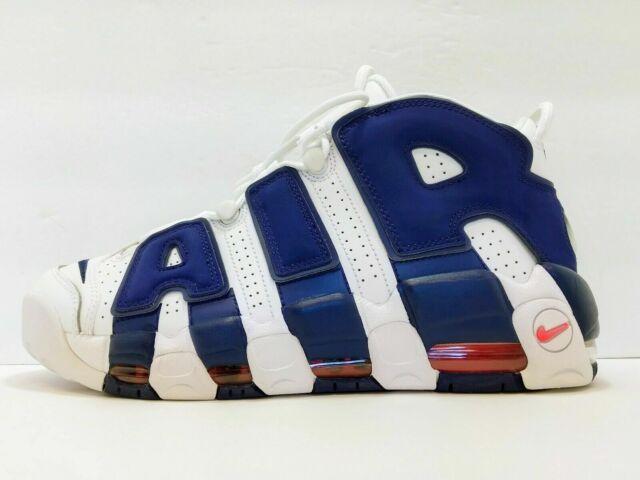 d355272d77 Nike Air More Uptempo 96 NY Knicks 33 Pippen The Dunk Royal Blue Men ...